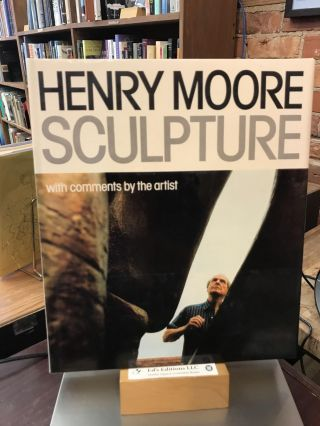 Henry Moore Sculpture: With Comments by the Artist. Henry Moore, David Mitchinson, Profusely...